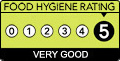 Sample menu hygiene rating