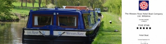 Wessex Rose Visit England 5 Star Award